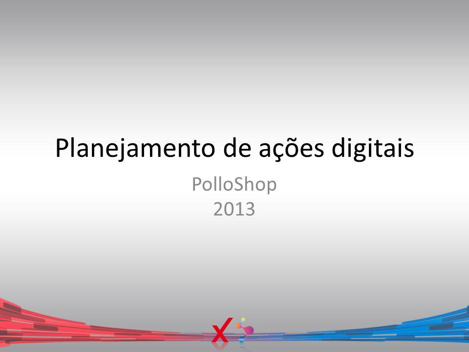 Planejamento de ações digitais