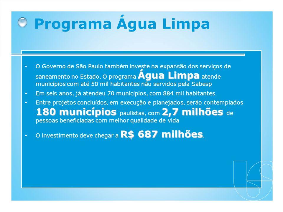 Programa Água Limpa
