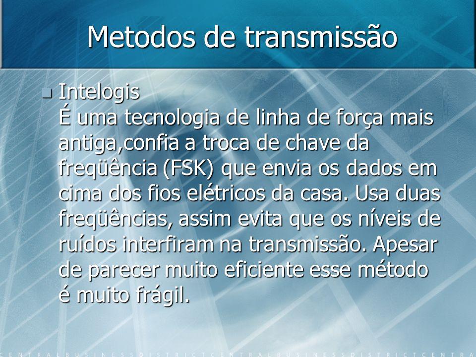 Metodos de transmissão