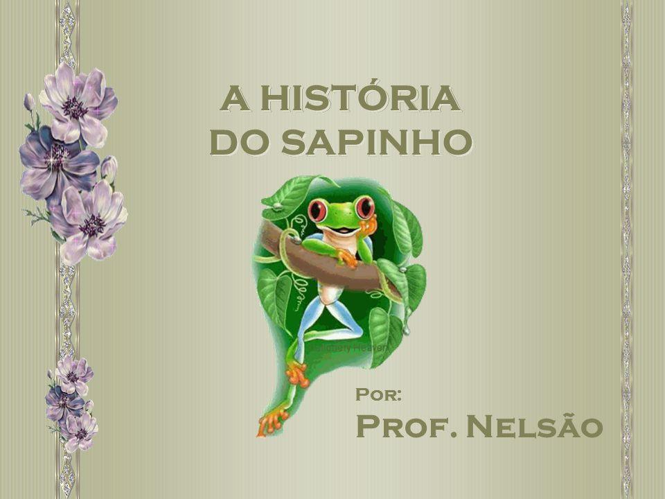 A HISTÓRIA DO SAPINHO A HISTÓRIA DO SAPINHO