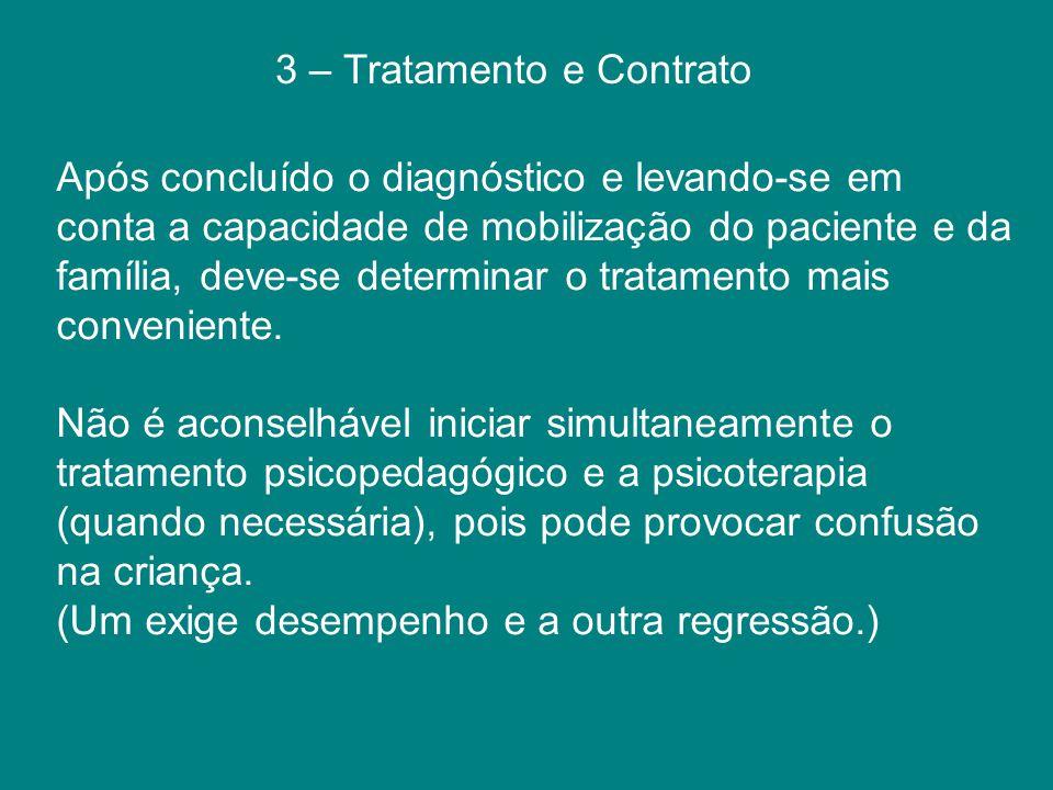 3 – Tratamento e Contrato