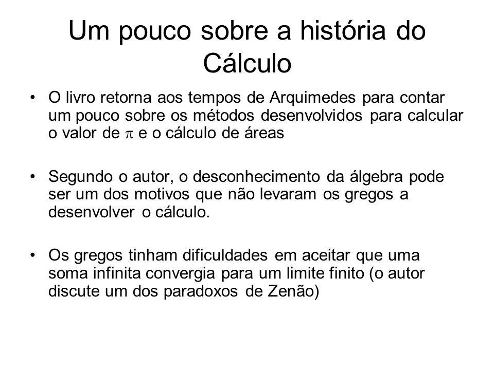 Um pouco sobre a história do Cálculo