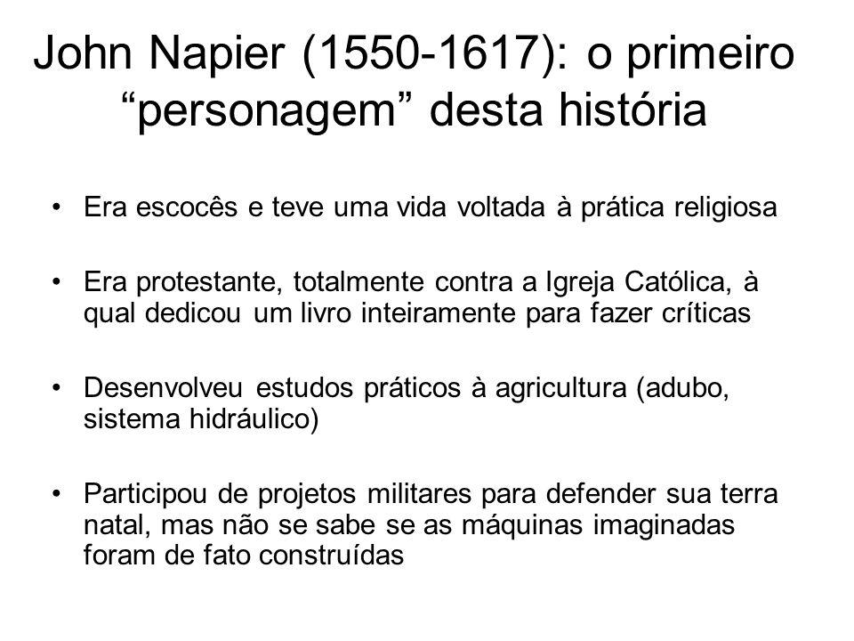 John Napier (1550-1617): o primeiro personagem desta história