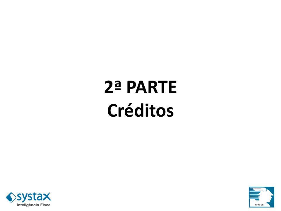 2ª PARTE Créditos