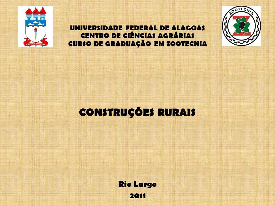 CONSTRUÇÕES RURAIS Rio Largo 2011