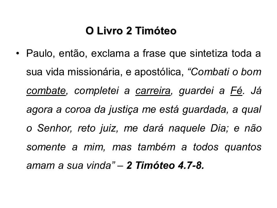 O Livro 2 Timóteo