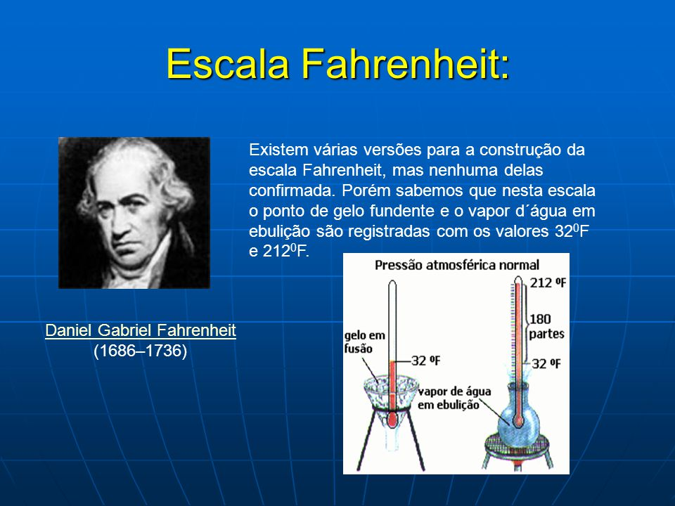 Daniel Gabriel Fahrenheit (1686–1736)