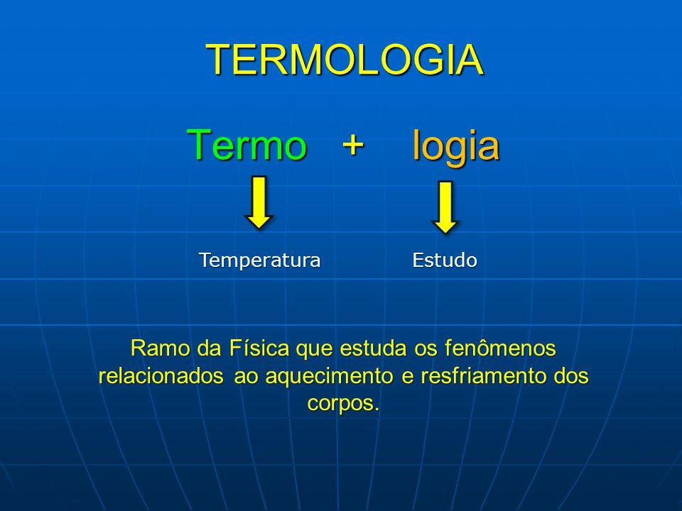 TERMOLOGIA Termo + logia