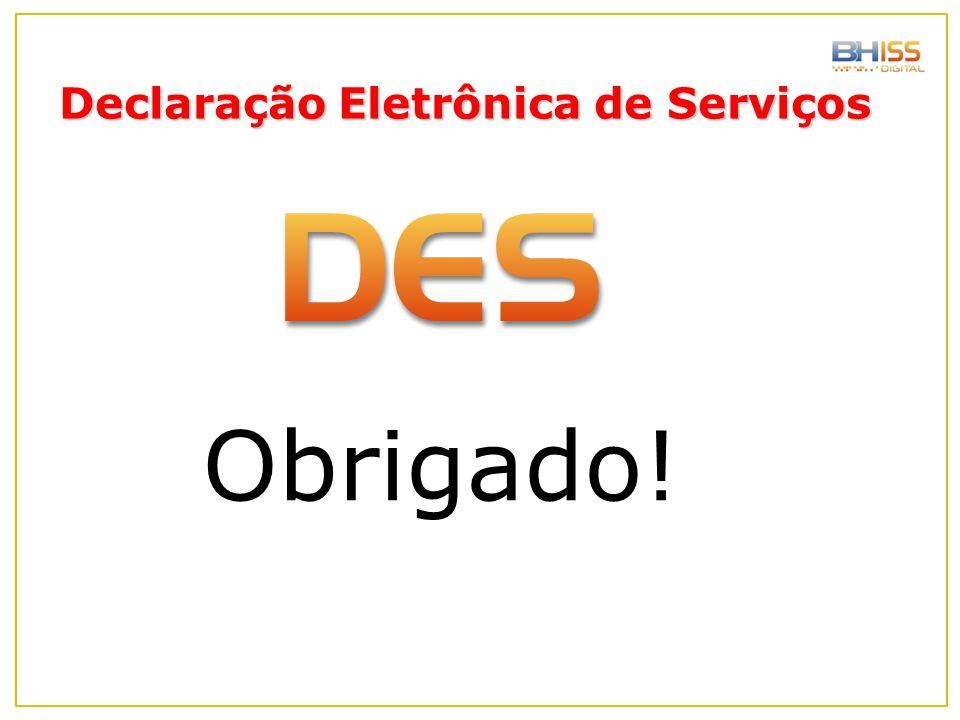 Declaração Eletrônica de Serviços