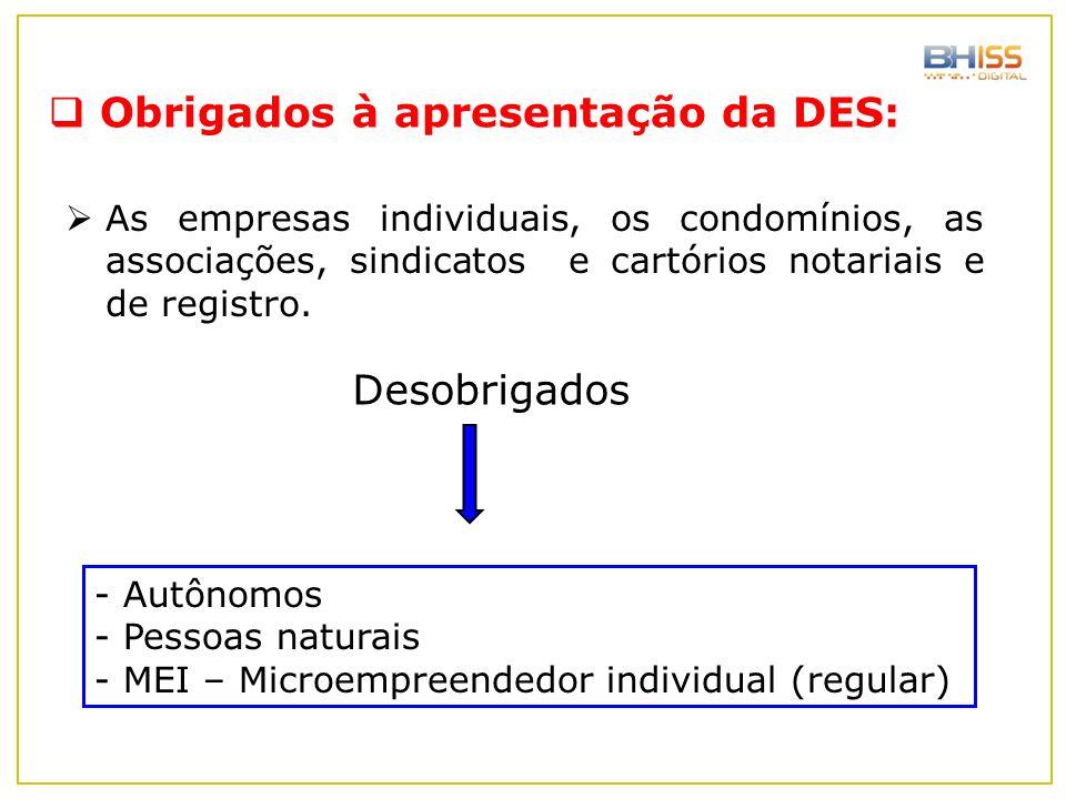 Obrigados à apresentação da DES:
