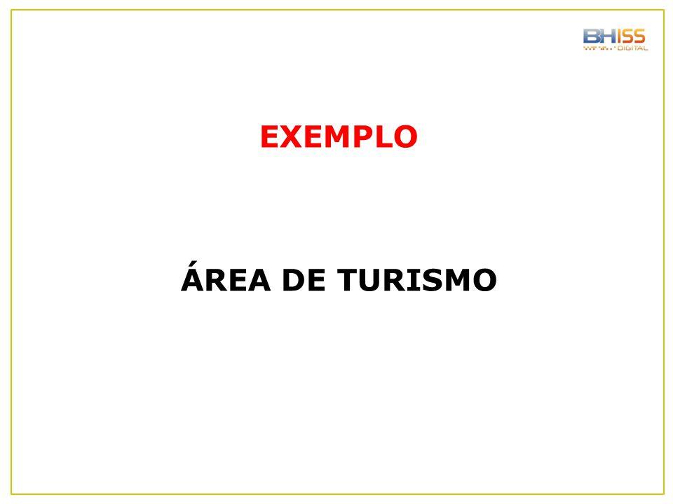 EXEMPLO ÁREA DE TURISMO