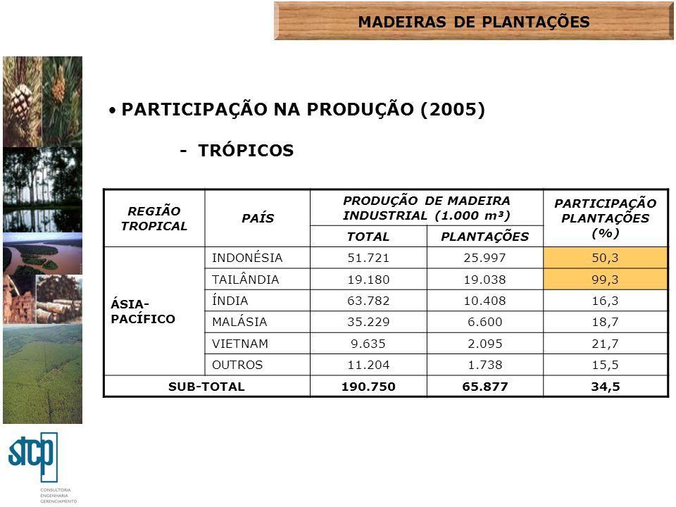 PARTICIPAÇÃO NA PRODUÇÃO (2005)