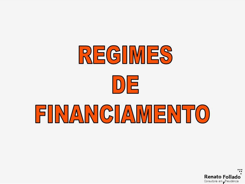 REGIMES DE FINANCIAMENTO
