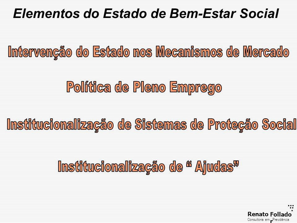 Elementos do Estado de Bem-Estar Social