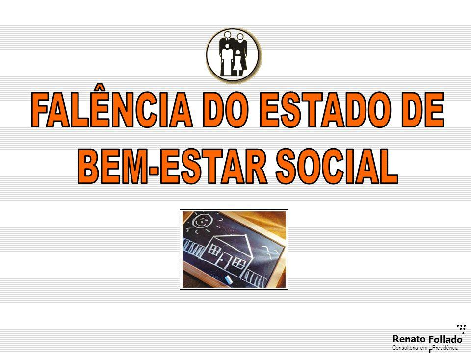 FALÊNCIA DO ESTADO DE BEM-ESTAR SOCIAL