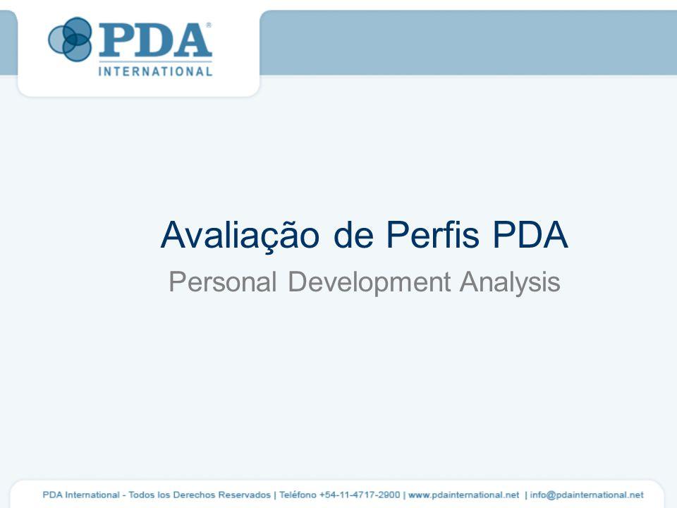 Avaliação de Perfis PDA