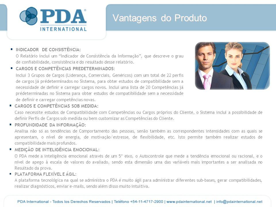 Vantagens do Produto INDICADOR DE CONSISTÊNCIA: