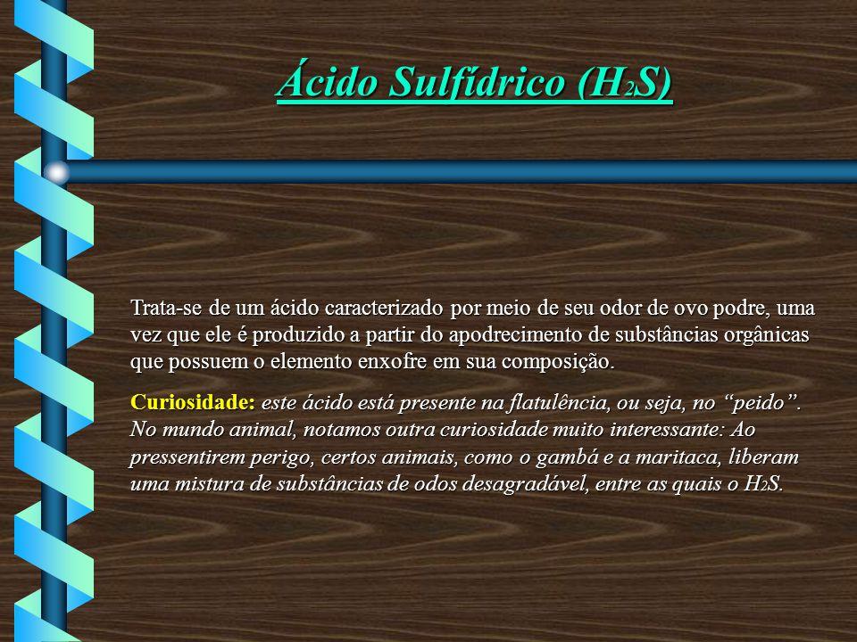 Ácido Sulfídrico (H2S)