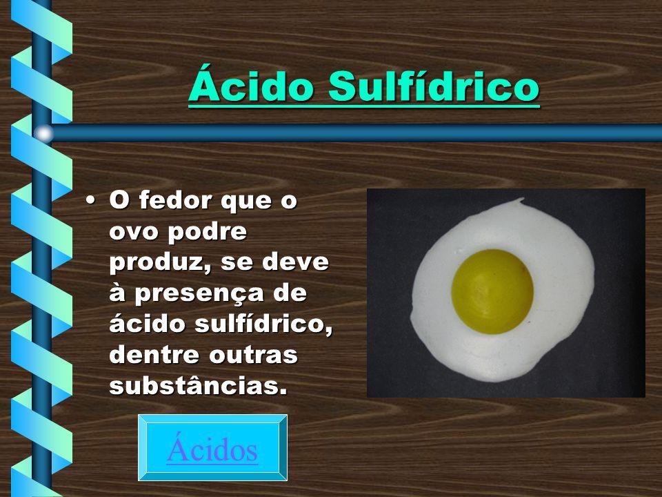 Ácido Sulfídrico Ácidos