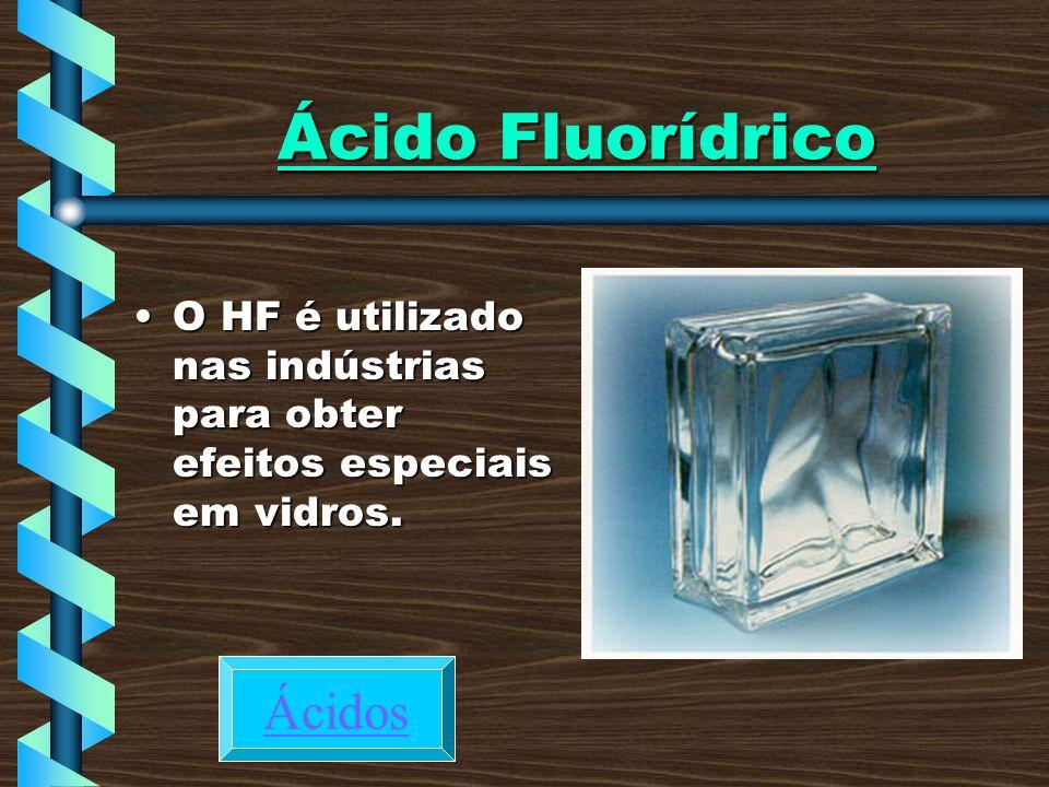 Ácido Fluorídrico Ácidos