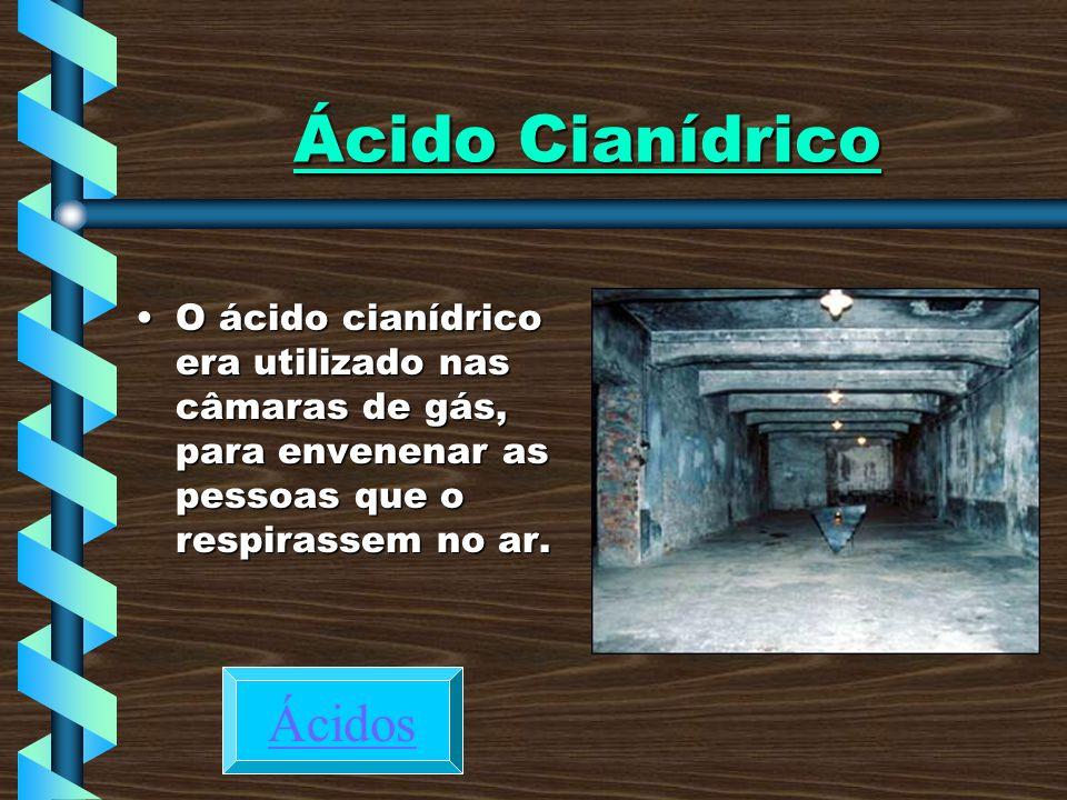 Ácido Cianídrico Ácidos