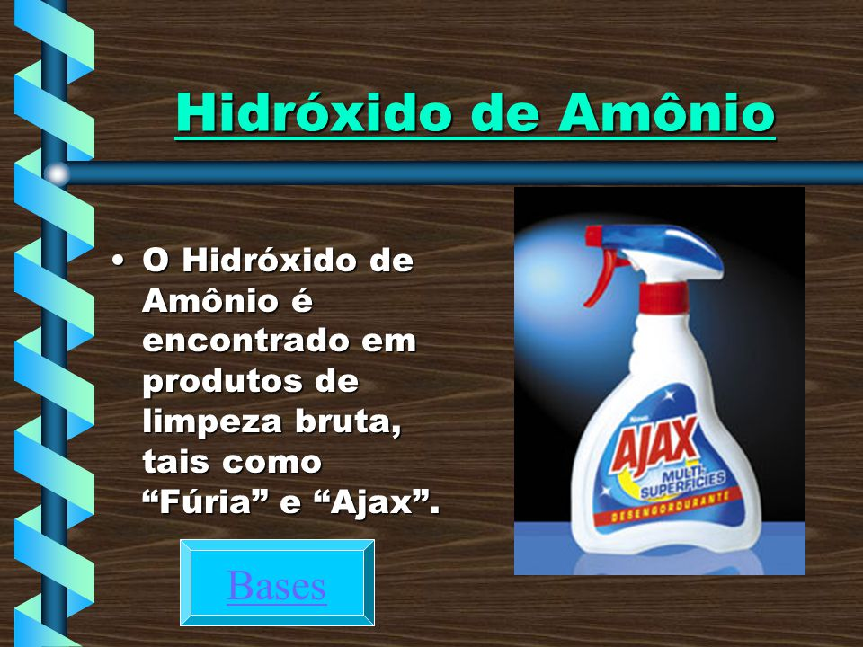 Hidróxido de Amônio Bases