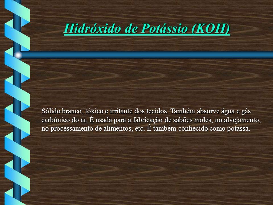 Hidróxido de Potássio (KOH)