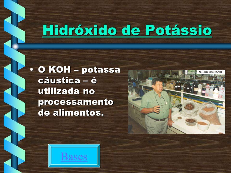 Hidróxido de Potássio Bases