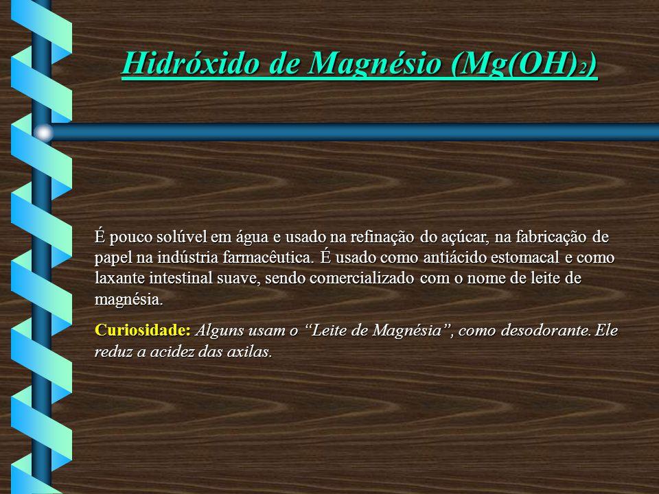 Hidróxido de Magnésio (Mg(OH)2)