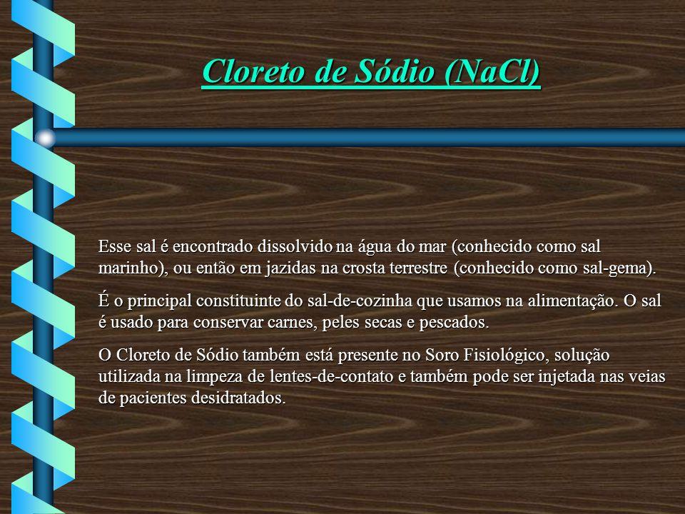 Cloreto de Sódio (NaCl)