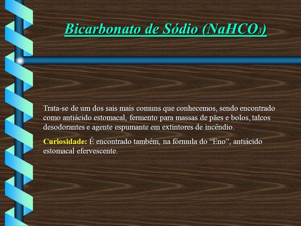 Bicarbonato de Sódio (NaHCO3)