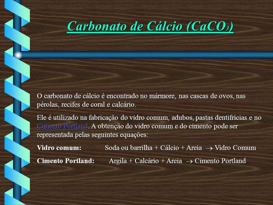 Carbonato de Cálcio (CaCO3)