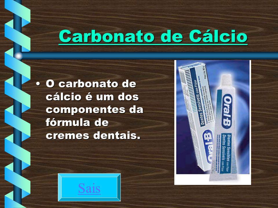 Carbonato de Cálcio Sais