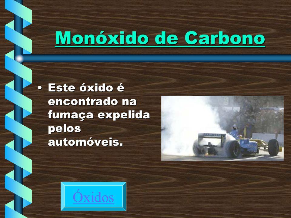 Monóxido de Carbono Óxidos