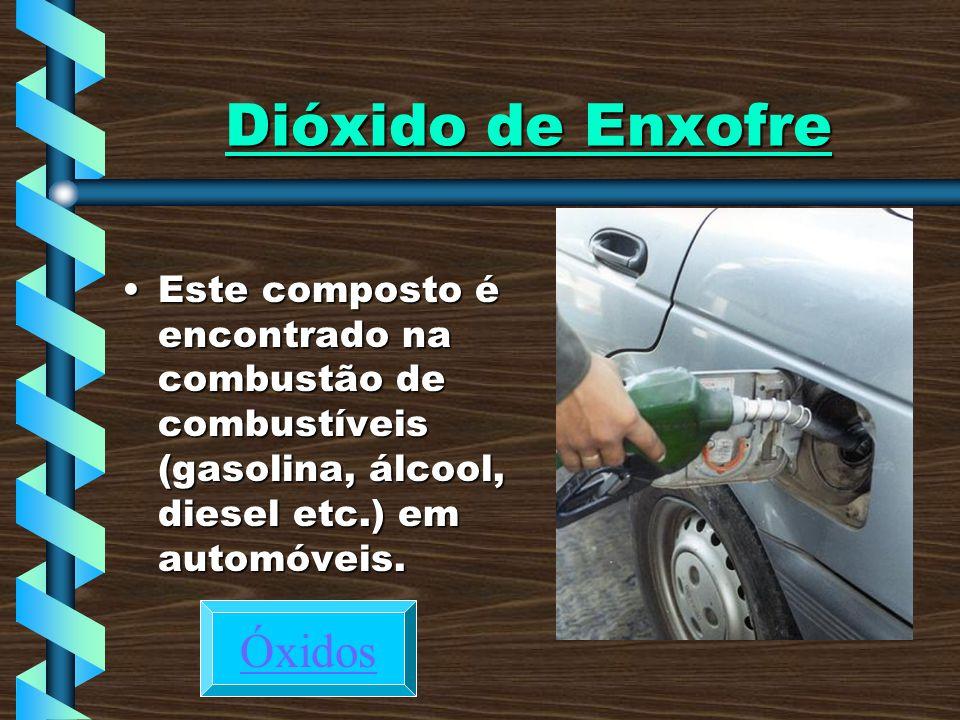 Dióxido de Enxofre Óxidos