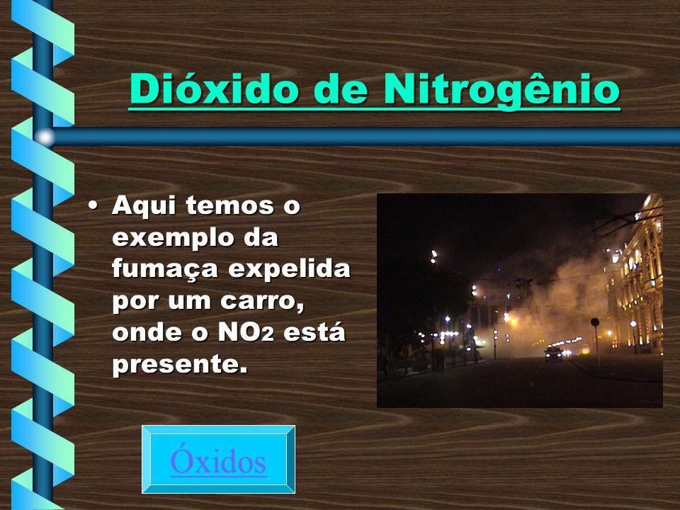 Dióxido de Nitrogênio Óxidos