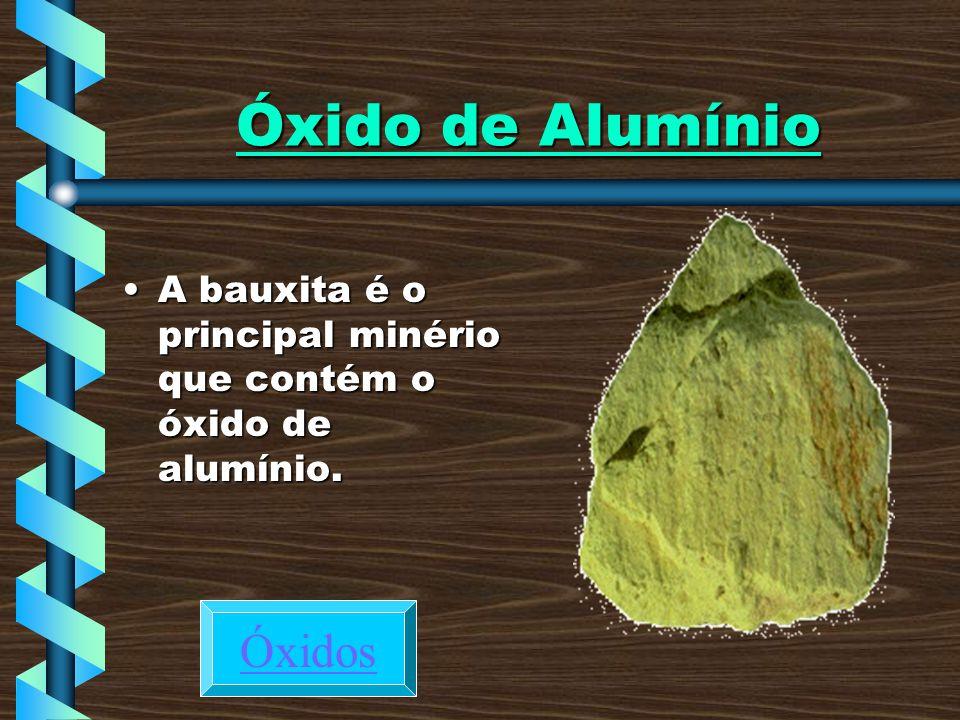 Óxido de Alumínio Óxidos