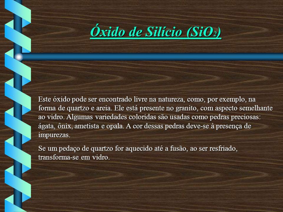 Óxido de Silício (SiO2)