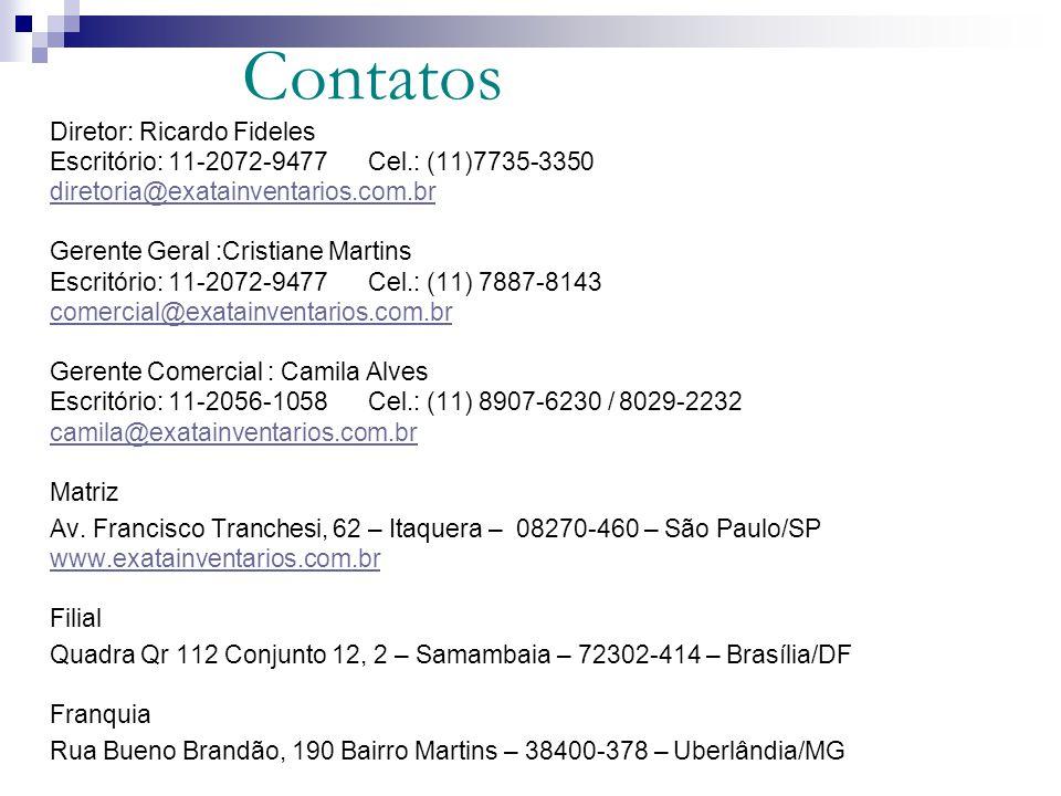 Contatos Diretor: Ricardo Fideles