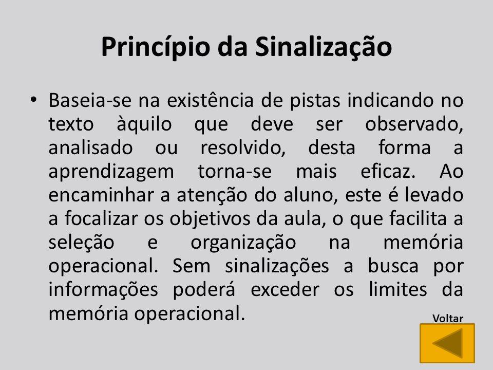 Princípio da Sinalização