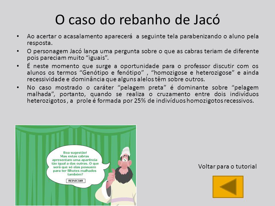 O caso do rebanho de Jacó