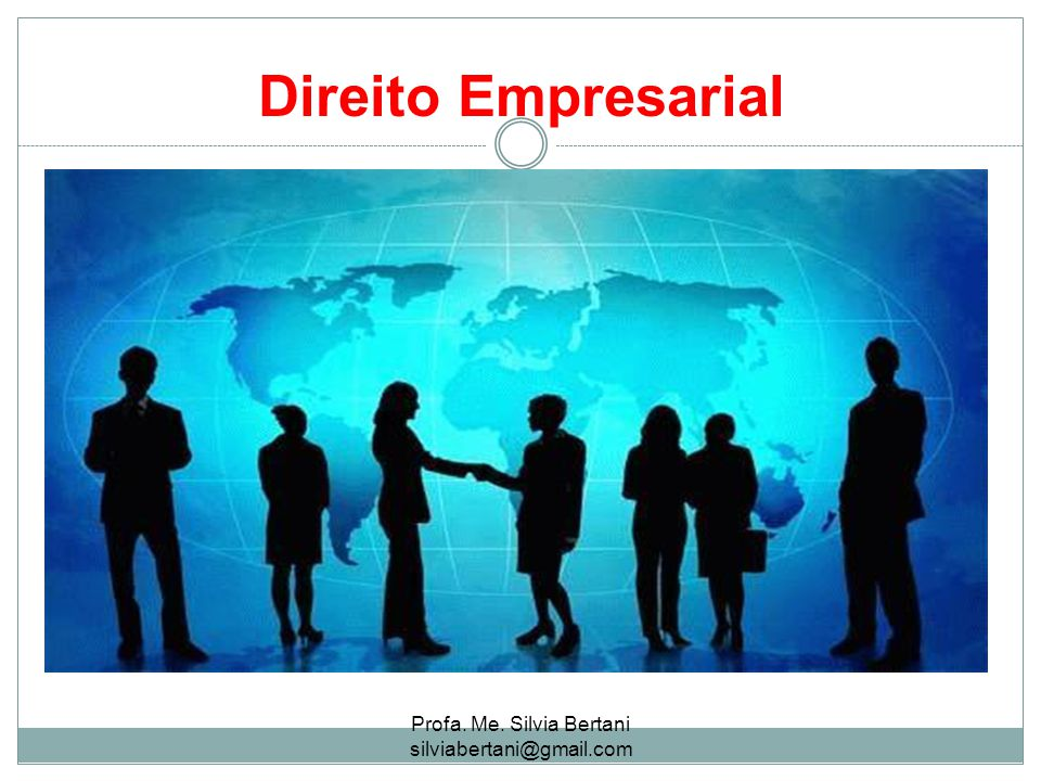 Profa. Me. Silvia Bertani silviabertani@gmail.com