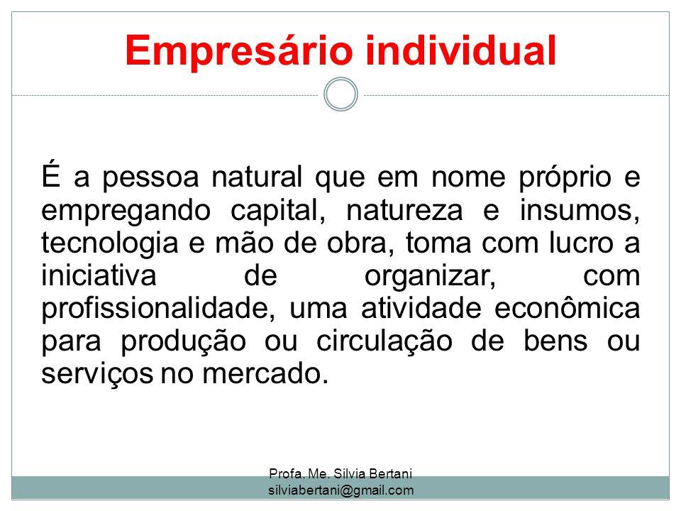Empresário individual