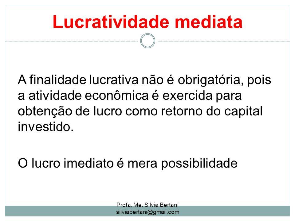 Lucratividade mediata
