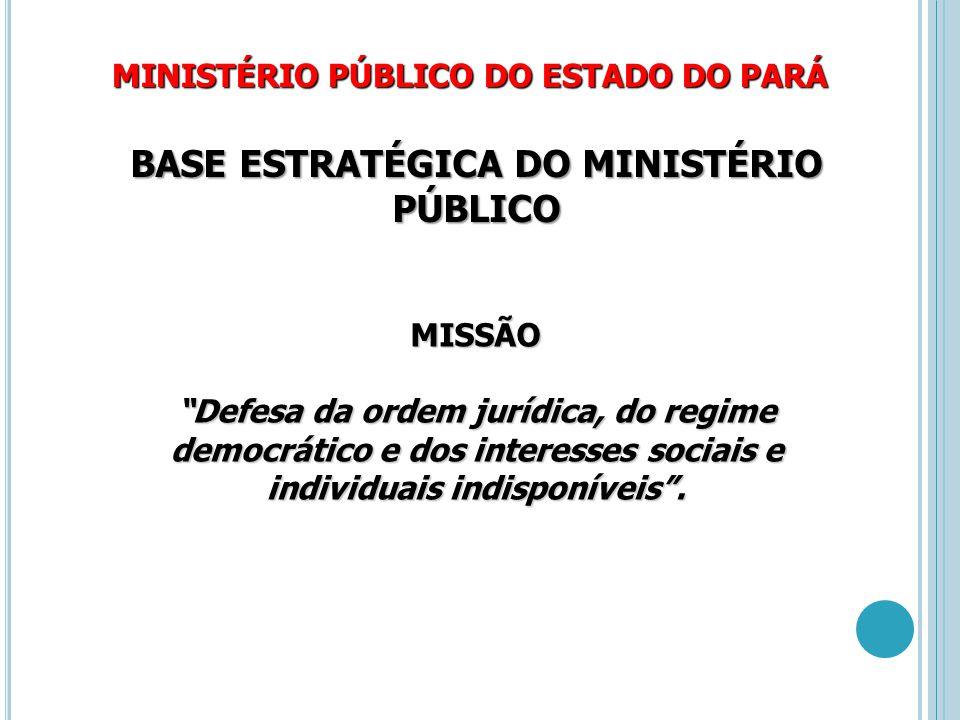BASE ESTRATÉGICA DO MINISTÉRIO PÚBLICO