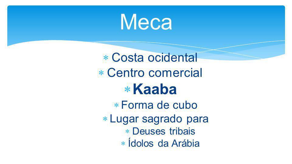 Meca Kaaba Costa ocidental Centro comercial Forma de cubo