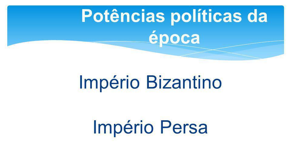Potências políticas da época