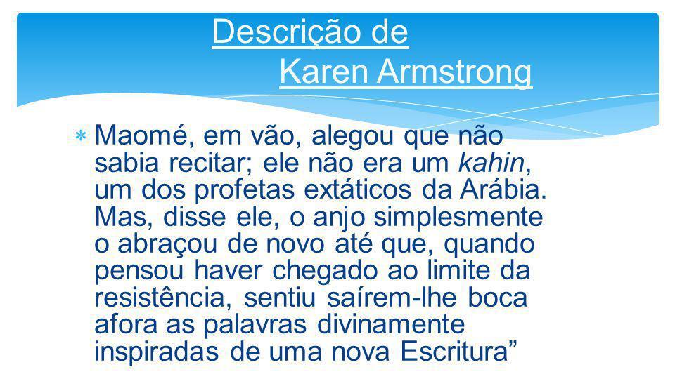Descrição de Karen Armstrong