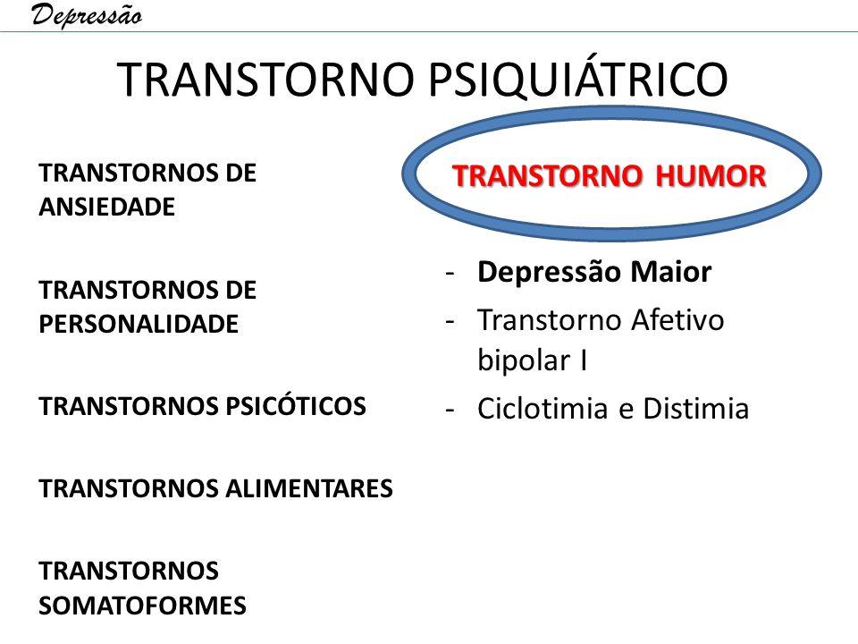 TRANSTORNO PSIQUIÁTRICO