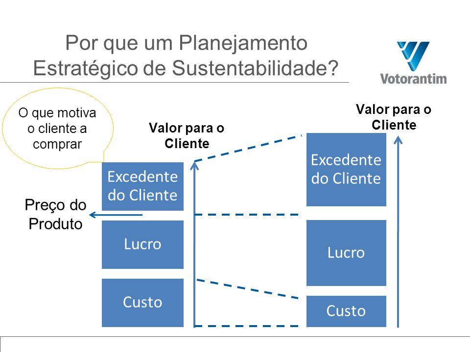 Por que um Planejamento Estratégico de Sustentabilidade